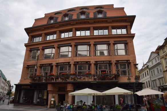 maison de la vierge noire Prague