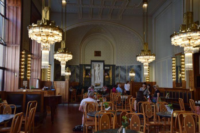 café maison municipale Prague
