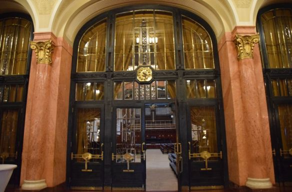 entrée salle smetana Maison Municipale Prague