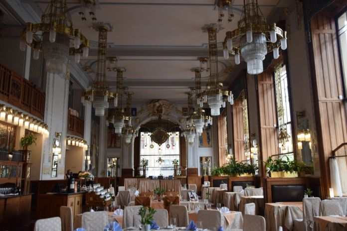 restaurant Maison municipale Prague