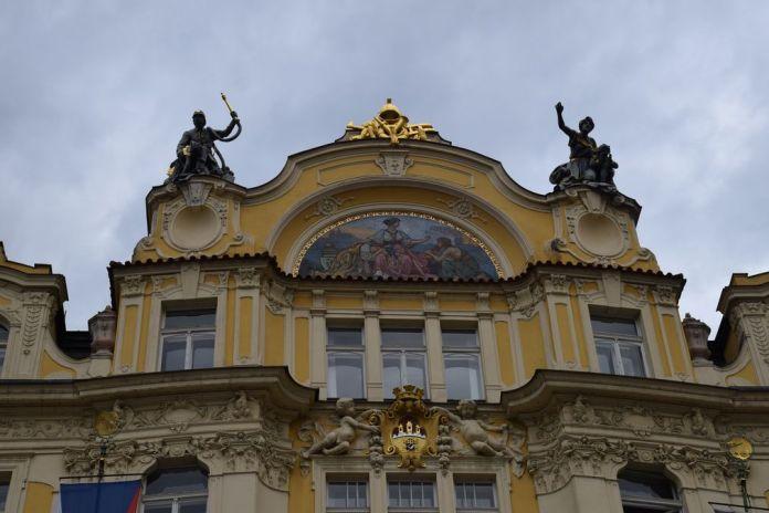 palais rococo place de la vielle ville Prague