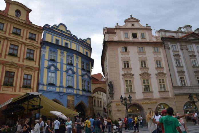 pastel place de la Vieille Ville Prague