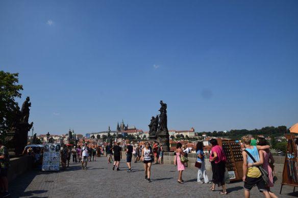 Pont charles Statues Prague