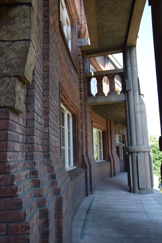 villa Bilek découpes Prague