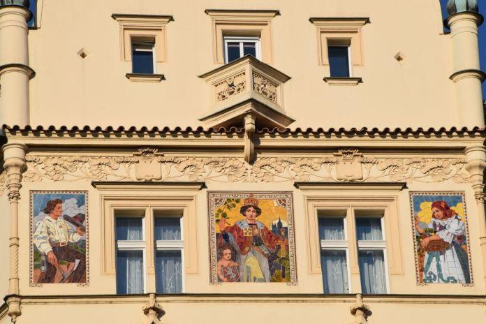 céramique Hôtel Pariz Prague