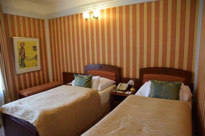 chambre exiguë Hôtel Pariz Prague