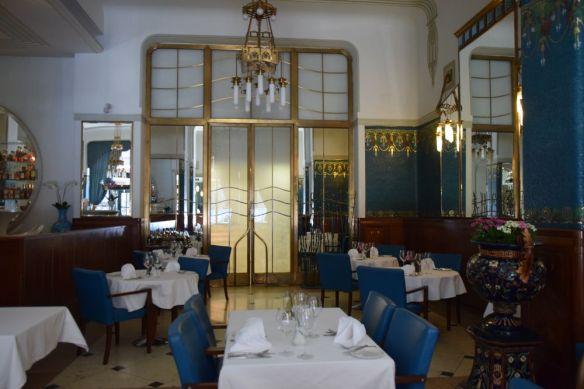 retour salle à manger Hôtel Pariz Prague