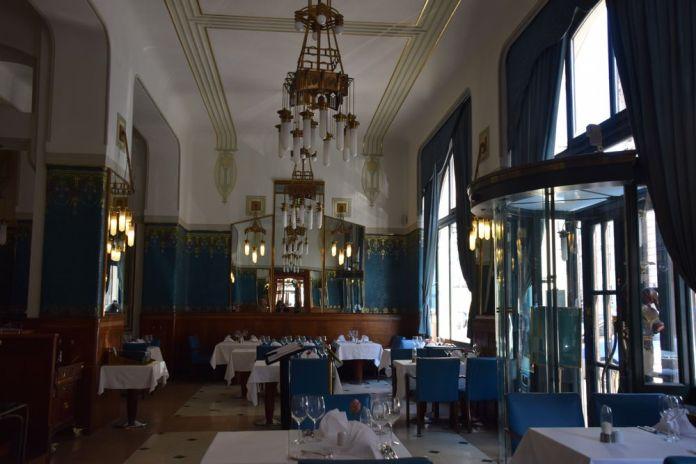 Luminaires de la salle à manger Hôtel Paris Prague