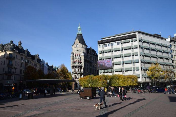 champignon Stureplan Stockholm suède sweden