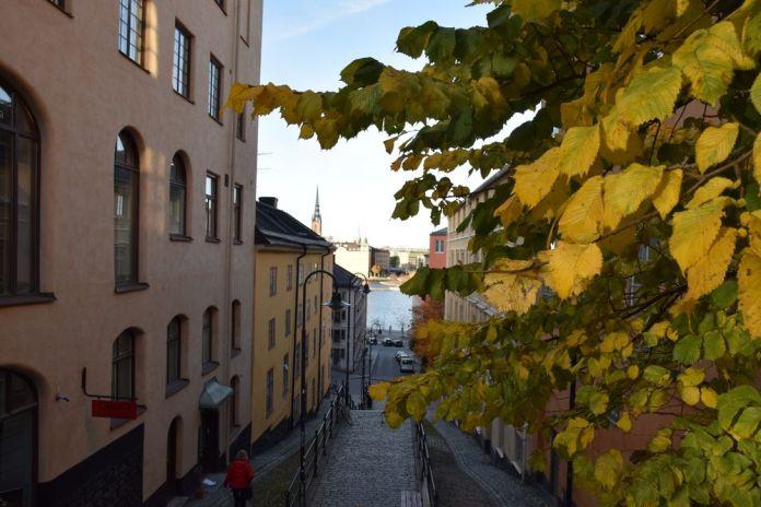 escaliers Hornsgatan Stockholm suède sweden