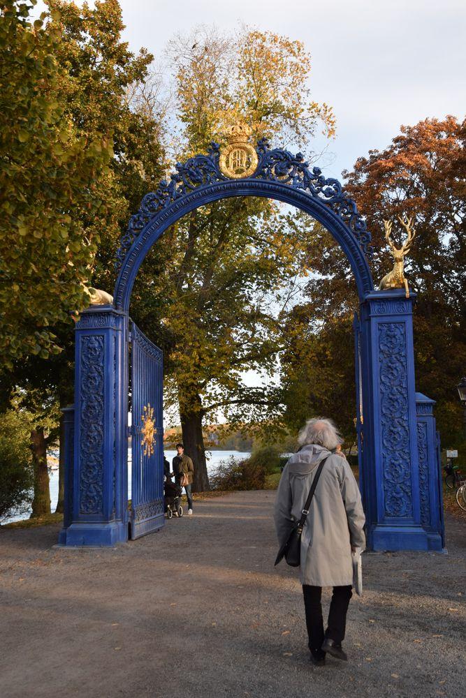 porte Djugarden Stockholm suède sweden