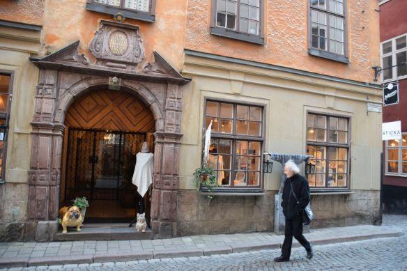immeubles boutiques Stockholm suède sweden