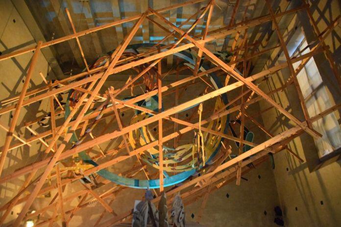 roue de la vie musée d'histoire stockholm suède sweden