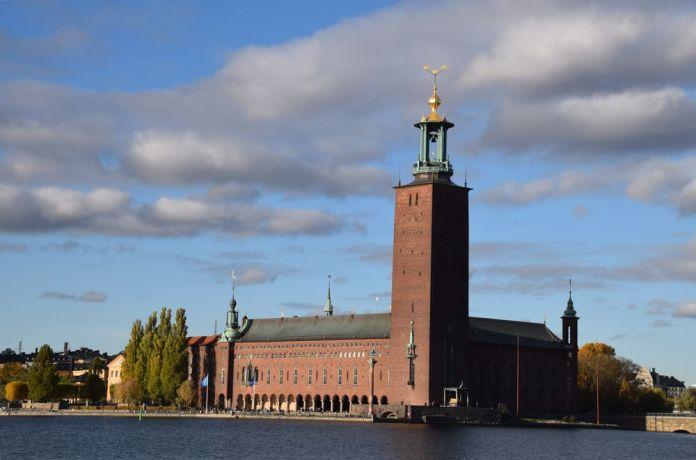 hôtel de ville stockholm tour suède sweden