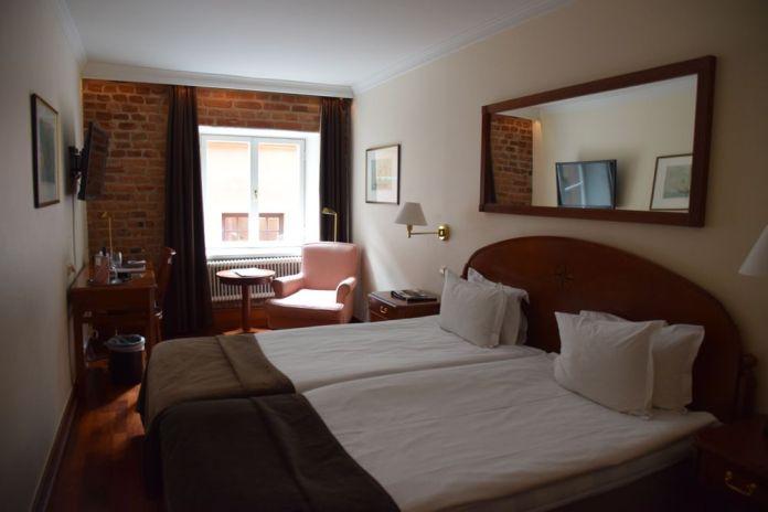 chambre first hotel Reisen Stockholm suède sweden