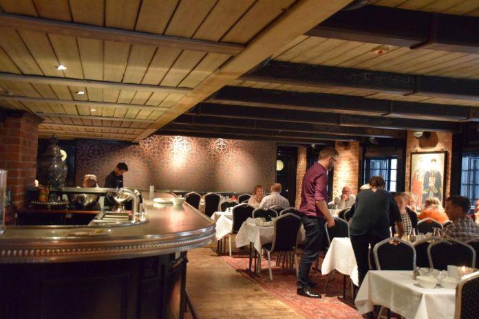 restaurant First Hotel Reisen stockholm suède sweden