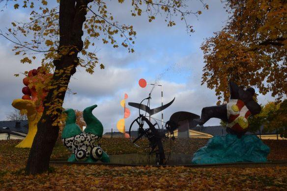 île aux musées paradais fantastique niki de saint phalle stockholm suède sweden