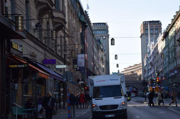 tours jumelles stockholm suède sweden