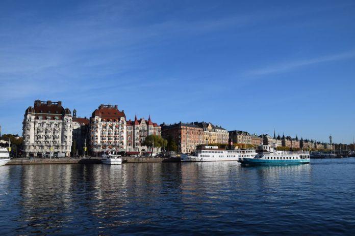 Strandvagen Stockholm suède sweden