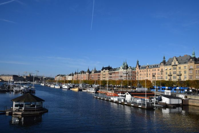 strandvagen stockholm suède sweden djugarden