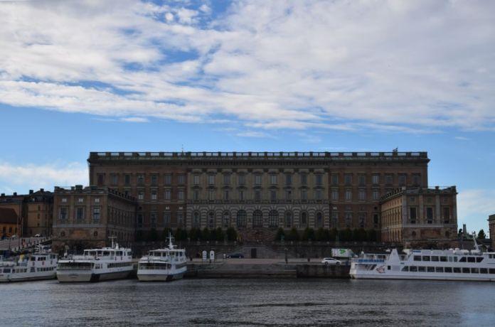 palais royal stockholm suède sweden