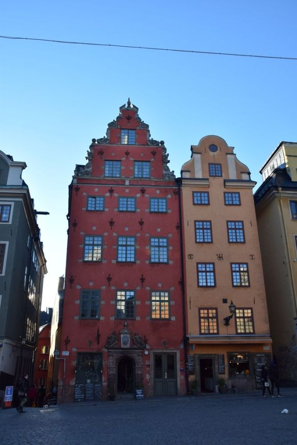 maisons stortorget gamla stan stockholm suède sweden