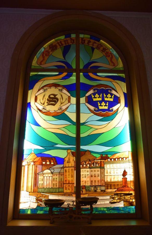 vitrail sunbergs conditori stockholm suède sweden