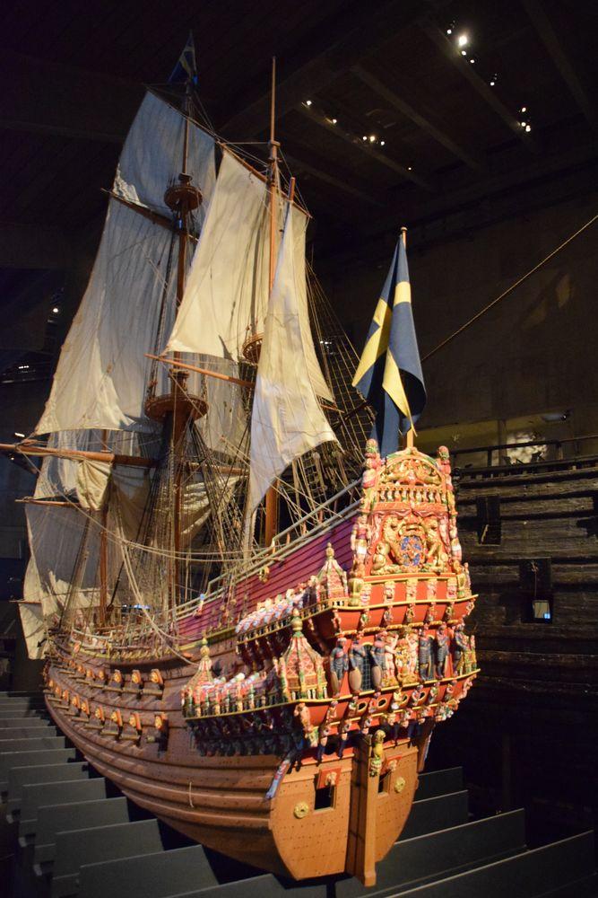 maquette vasa stockholm suède sweden
