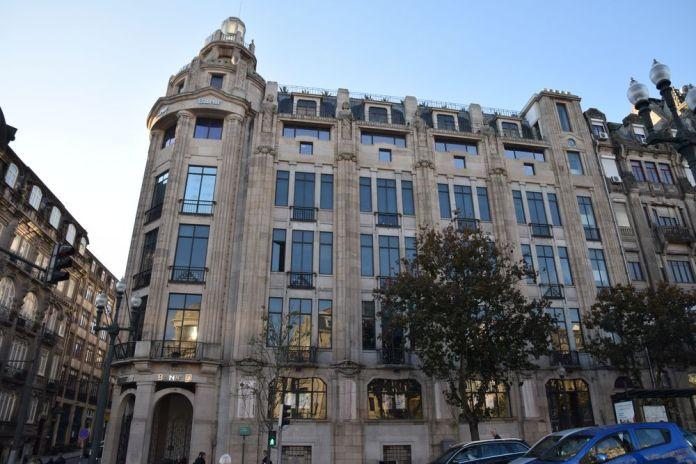 banque Art déco Porto portugal