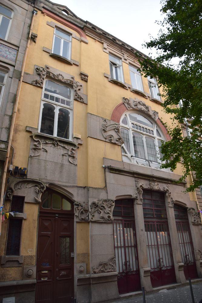 maison Art nouveau Galerias Paris Porto portugal