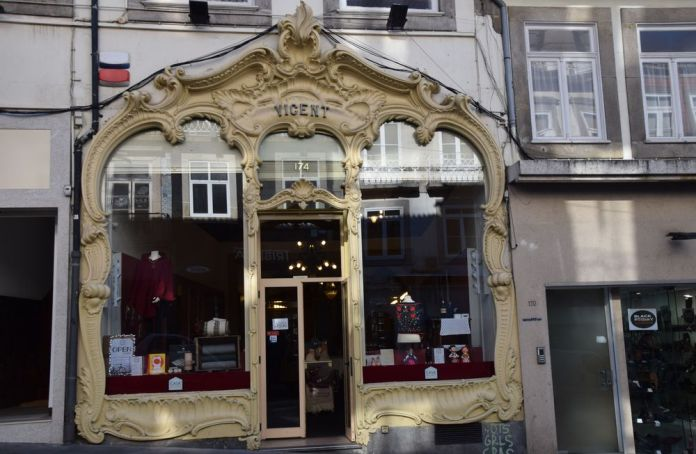 façade boutique Vicent porto portugal