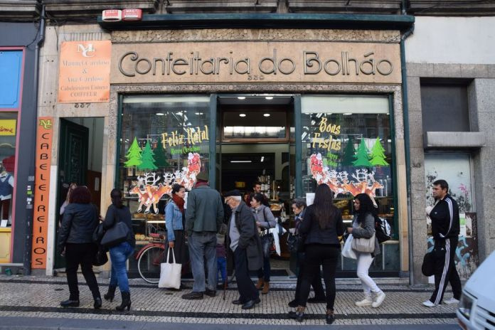 confeitaria do Bolhao Porto portugal