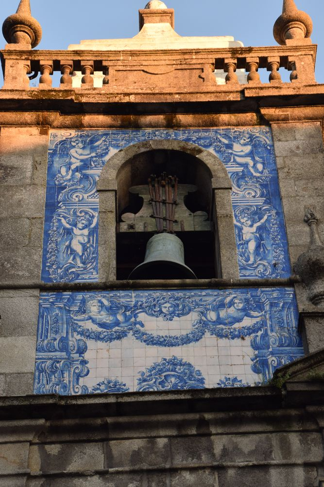 clocher église santa catarina porto portugal