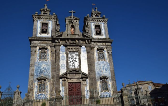 Eglise santo ildefonso porto portugal