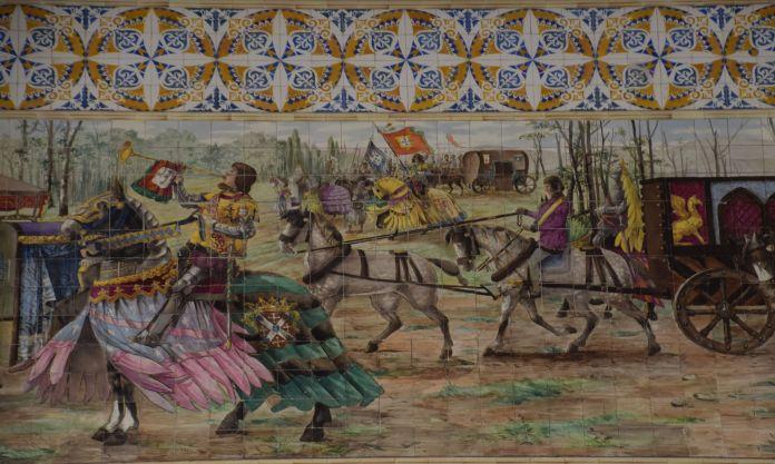 tableaux colorés sao bento porto portugal