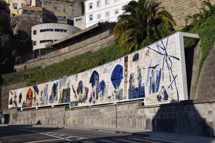 fresque ribeira negra porto portugal