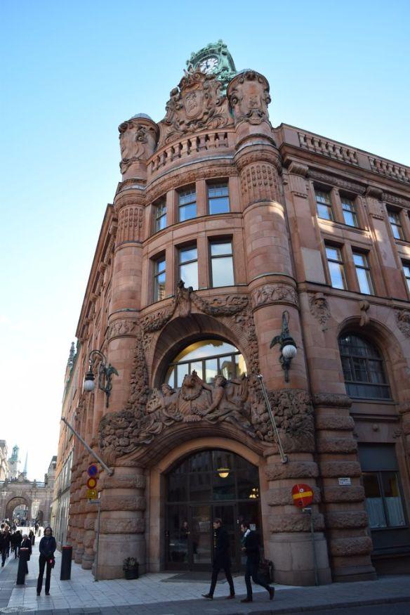 façade en majesté rosenbad stokholm suède