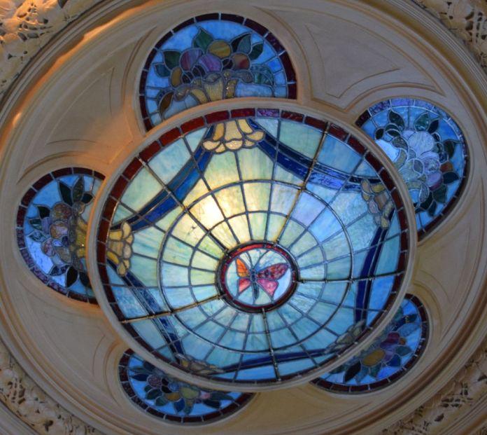 vitral latéral café opéra stockholm suède