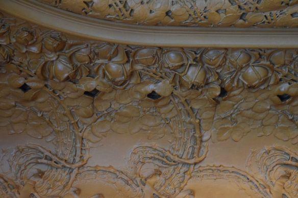 décor floral plafond café opéra stockholm suède
