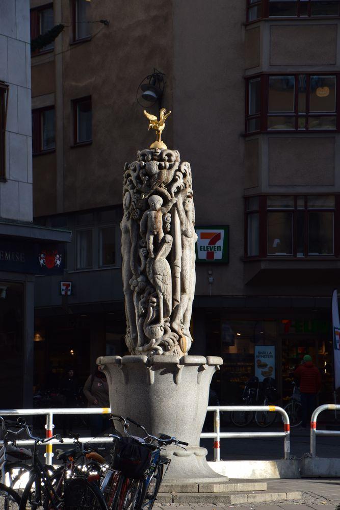 sculpture quartier Sturebadet stockholm suède