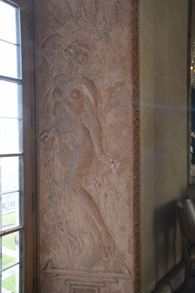 bas relief galerie du prince stockholm suède