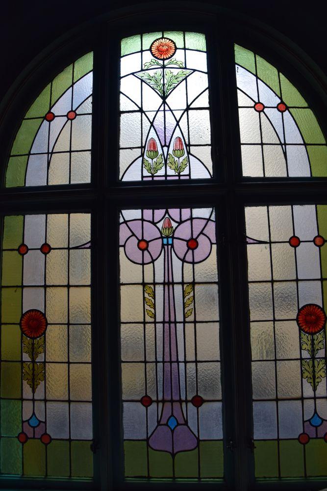 vitrail musée strindberg stockholm suède