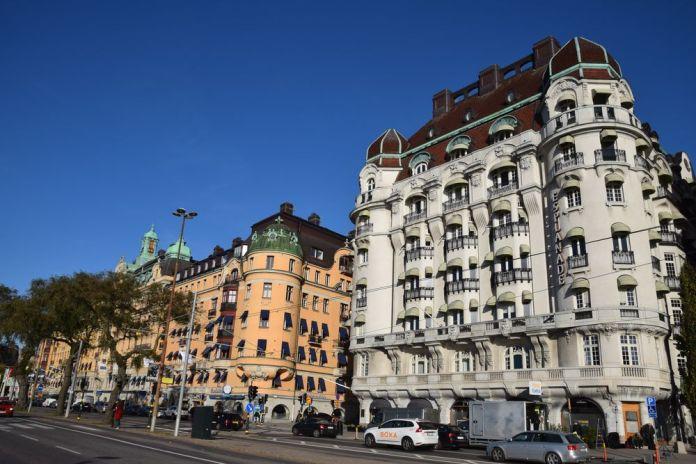 strandvagen stockholm suède