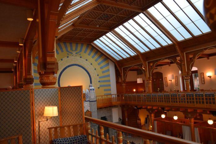 sturebadet galerie en bois ouvragé stockholm suède
