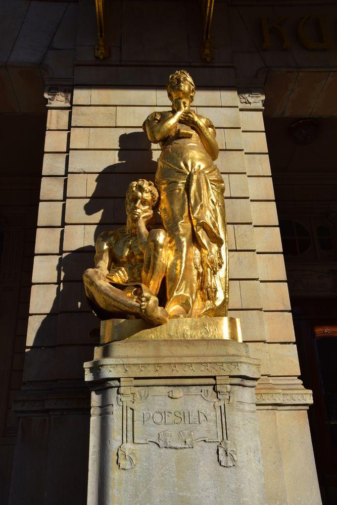 allégorie poésie théâtre royal dramatique stockholm suède