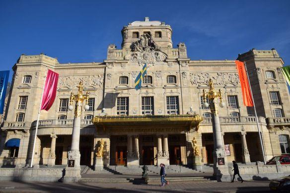 Théâtre royal dramatique stockholm suède sécession