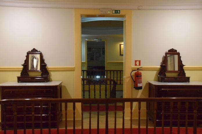 perspective cages d'escalier grande hotel de paris Porto