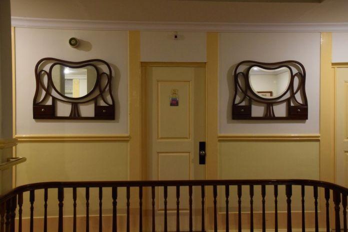 miroirs anciens grande hotel de Paris Porto