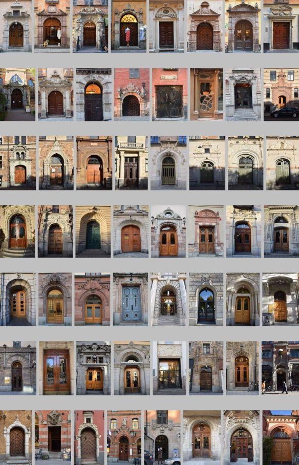 portes de Stockholm Suède