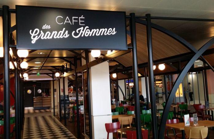 café des grands hommes aéroport de Bordeaux